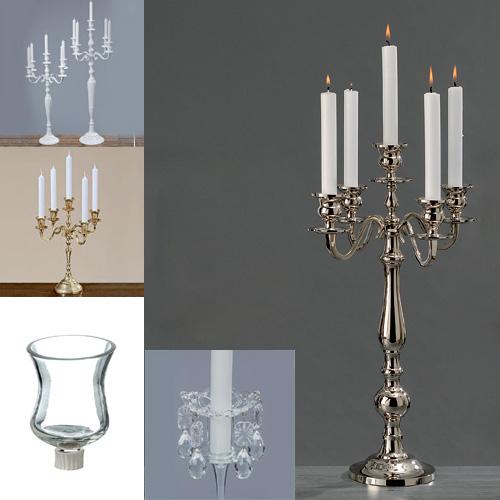 chandelier pour bougie argent or blanc chandelier bougeoir mariage 3 5 9 bras ebay. Black Bedroom Furniture Sets. Home Design Ideas
