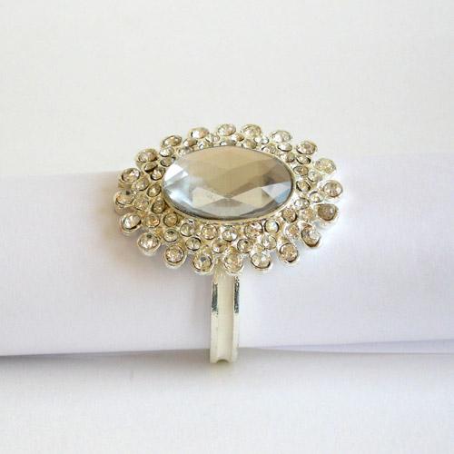serviettenring diamant servietten ring serviettenhalter serviettenringe silber ebay. Black Bedroom Furniture Sets. Home Design Ideas