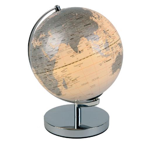 leuchtglobus wei leucht globus beleuchtet weltkugel. Black Bedroom Furniture Sets. Home Design Ideas