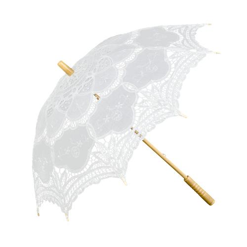 damen schirm wei sonnenschirm braut schirm julie hochzeit regenschirm spitze ebay. Black Bedroom Furniture Sets. Home Design Ideas