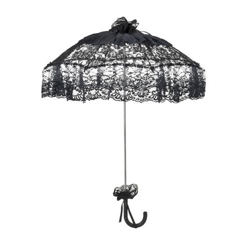schirm sonnenschirm josephine schwarz regenschirm m. Black Bedroom Furniture Sets. Home Design Ideas