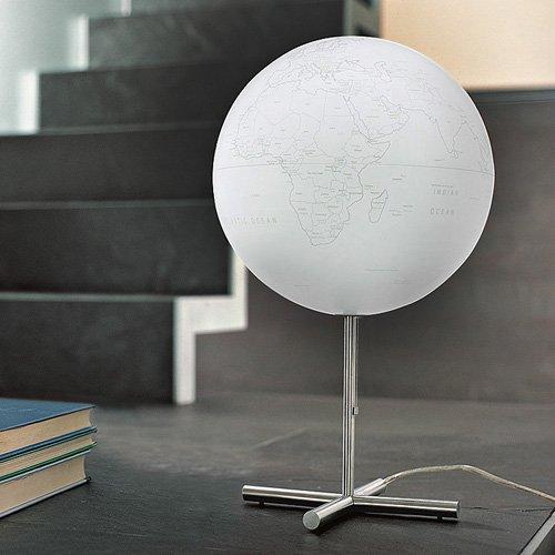 atmosphere globus globe lamp entdecken sie die welt der geschenke. Black Bedroom Furniture Sets. Home Design Ideas
