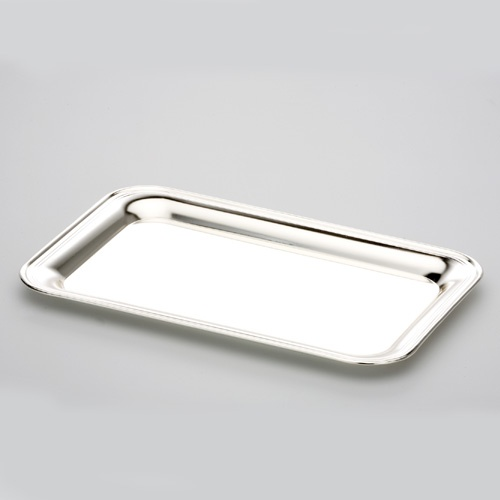 tablett rechteckig metall silber entdecken. Black Bedroom Furniture Sets. Home Design Ideas